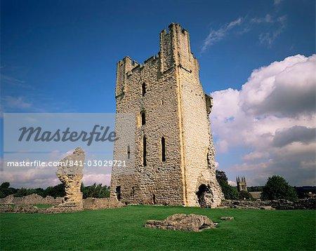 Grand tour, Helmsley Castle, North Yorkshire, Angleterre, Royaume-Uni, Europe