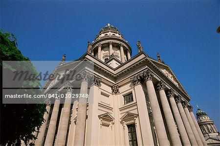 Allemand cathédrale, Gendarmenmarkt, Berlin, Allemagne, Europe