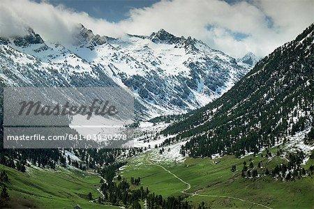 Val D'Aran in the Pyrenees near Viella, Catalonia, Spain, Europe