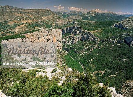 Gorges du Verdon, Alpes de Haute Provence, Provence, France, Europe