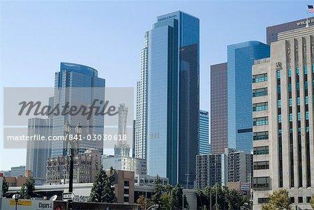 Broad Plaza, Downtown, Los Angeles, Californie, États-Unis d'Amérique, l'Amérique du Nord