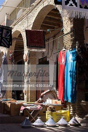 Medina et l'artisanat, Tozeur, Tunisie, Afrique du Nord, Afrique