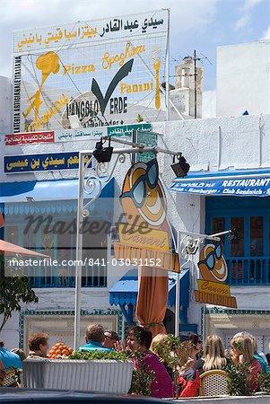 Town centre, Hammamet, Tunisia, North Africa, Africa