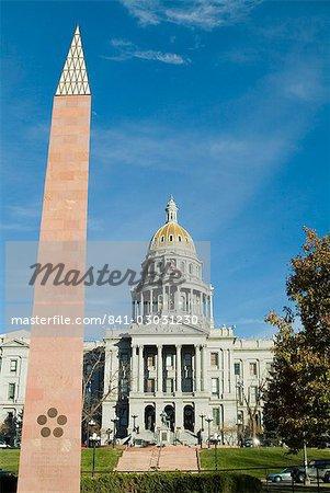 State Capitol, Denver, Colorado, États-Unis d'Amérique, l'Amérique du Nord