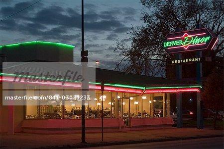 Denver Diner, Denver, Colorado, United States of America, North America
