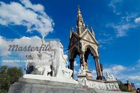 Albert Memorial, South Kensington, Londres, Royaume-Uni, Europe