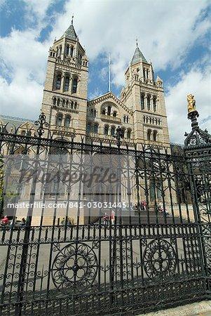 Musée d'histoire naturelle, South Kensington, Londres, Royaume-Uni, Europe
