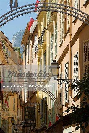 Old Town, Monaco-Veille, Monaco, Europe