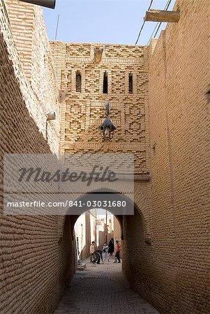 Medina (centre-ville), Tozeur, Tunisie, Afrique du Nord, Afrique