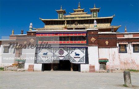 Monastère de Samye, Tibet, Chine, Asie