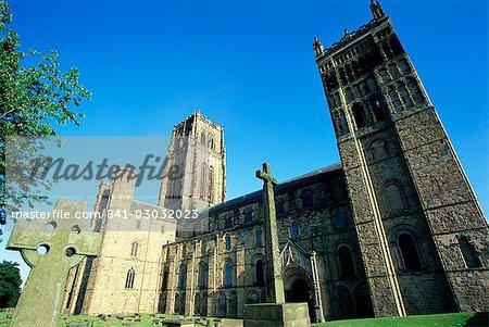 Cathédrale de Durham, patrimoine mondial de l'UNESCO, Durham, comté de Durham, Angleterre, Royaume-Uni, Europe