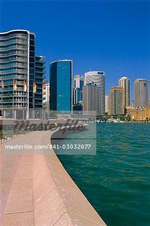 Opéra Quay ou ville ciels, Sydney, New South Wales, Australie