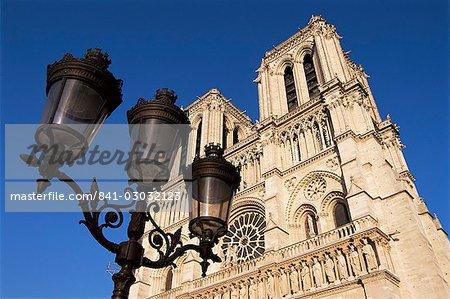 Notre Dame de Paris, Ile de la cité, Paris, France, Europe