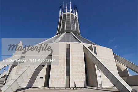 Cathédrale catholique romaine, Liverpool, Merseyside, Angleterre, Royaume-Uni, Europe