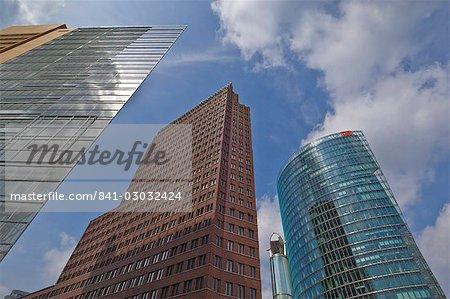 New modern buildings in Potsdamer Platz, Berlin, Germany, Europe