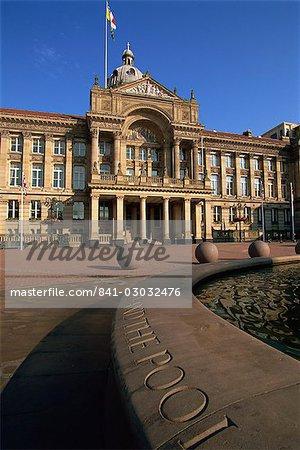 Conseil House, Victoria Square, city centre, Birmingham, Angleterre, Royaume-Uni, Europe