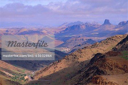 Tafraoute en région, Maroc, Afrique du Nord