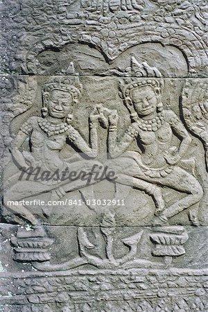 The Bayon Temple, Angkor, Siem Reap, Cambodia, Indochina, Asia