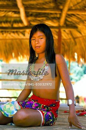 Indiens Embera, Parc National de Chagres, Panama amerique centrale