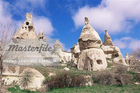 Asie centrale de Cappadoce, Anatolie, Turquie, Asie mineure, la vallée de Göreme, l'UNESCO patrimoine de l'humanité,