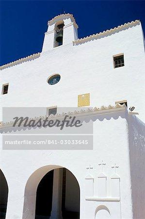 Church of Sant Joseph, Sant Joseph, Ibiza, Balearic Islands, Spain, Mediterranean, Europe