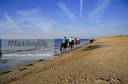 Conche des Baleines, bei Strandrestaurant, Dorf Saint-Clement, Ile de Re, Charente-Maritime, Frankreich, Europa