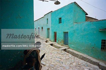 Village de Adua (Adwa) (Adowa), lieu historique où Menelik a battu les italiens dans la bataille, région de Tigre, Ethiopie, Afrique