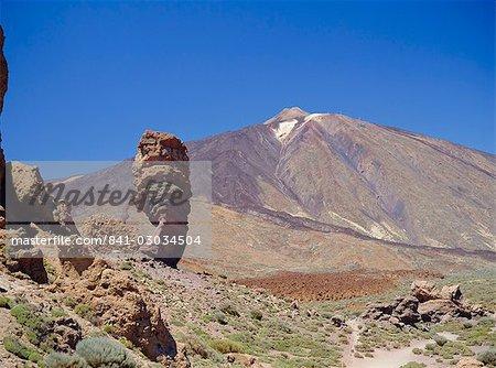 Du mont Teide, Tenerife, îles Canaries, Espagne