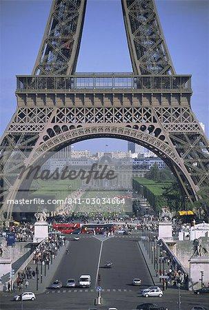 La tour Eiffel, Paris, France, Europe