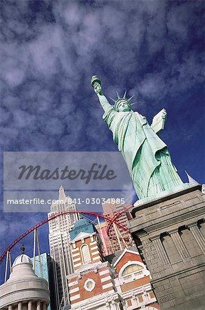 New York New York Hotel & Casino, Las Vegas, Nevada, États-Unis d'Amérique, l'Amérique du Nord