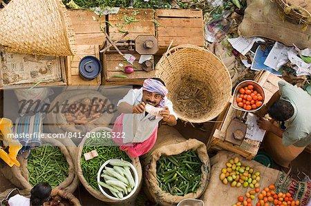 Markt, Trivandrum, Kerala, Indien