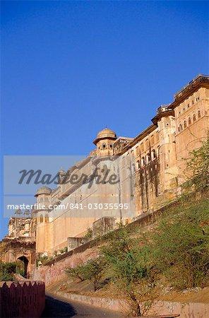 Le Fort d'Amber, Jaipur, Rajasthan, Inde