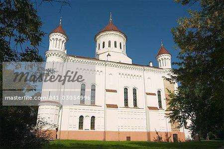 Église orthodoxe russe de la Sainte mère de Dieu, vieille ville, patrimoine mondial de l'UNESCO, Vilnius, Lituanie, pays baltes, Europe