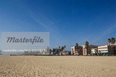 Venice Beach condominiums, Los Angeles, Californie, États-Unis d'Amérique, l'Amérique du Nord
