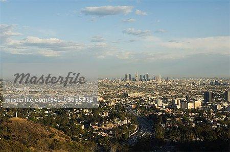 Gratte-ciels du quartier du centre-ville, Los Angeles, Californie, États-Unis d'Amérique, l'Amérique du Nord