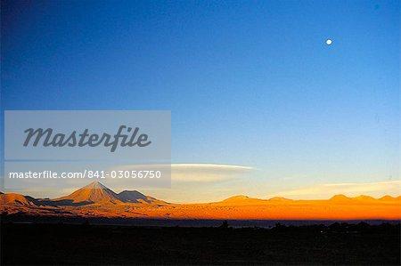 Volcan Licancabur, San Pedro de Atacama, au Chili, en Amérique du Sud