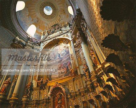 Church interior, Quito, Ecuador, South America