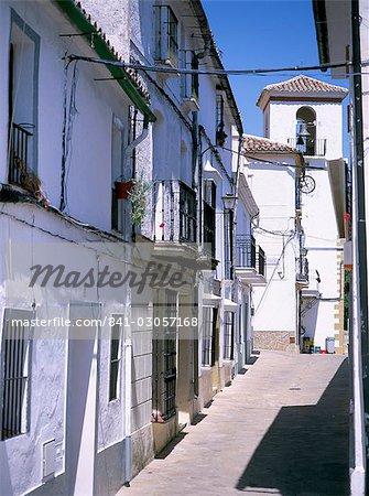 Pueblos Blancos, Andalousie (Andalousie), Espagne, Europe
