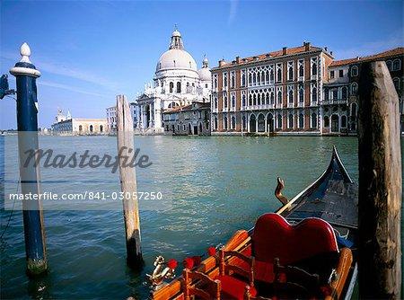 Santa Maria della Salute, Venise, UNESCO World Heritage Site, Veneto, Italie, Europe