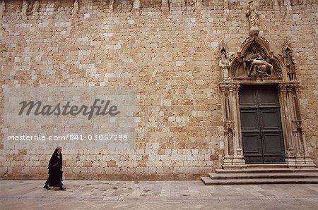 Dubrovnik, Dalmatie, Croatie, Europe