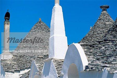 Trulli, Alberobello, UNESCO World Heritage Site, Pouilles, Italie, Euorpe