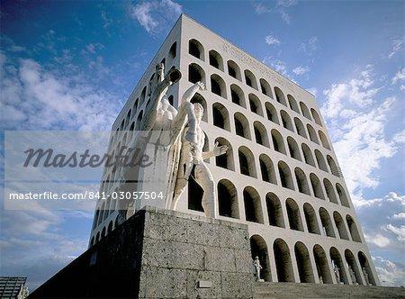 EUR (Esposizione Universale Romana), Rome, Lazio, Italie, Europe