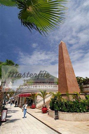 Shopping centre, Playa de las Americas, Tenerife, Canary Islands, Spain, Atlantic, Europe
