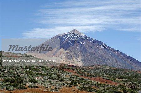 Mount Teide (Pico de Teide), Teide National Park, Tenerife, Canary Islands, Spain, Atlantic, Europe