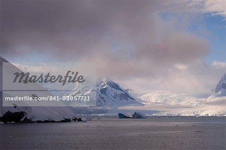 Détroit de Gerlache, péninsule Antarctique, Antarctique, régions polaires
