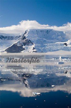Détroit de Gerlache, péninsule de l'Antarctique, l'Antarctique, les régions polaires