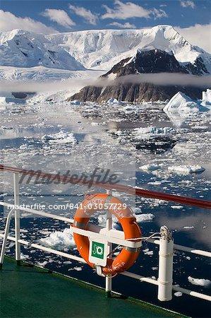 Expédition antarctique Dream, détroit de Gerlache, péninsule de l'Antarctique, l'Antarctique, les régions polaires