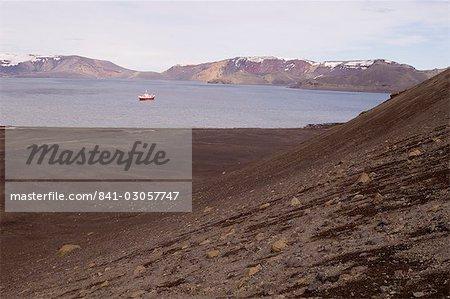 Île de la déception, les îles Shetland du Sud, l'Antarctique, les régions polaires