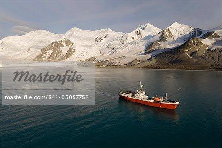 Expédition antarctique Dream, False Bay, île Livingston, îles Shetland du Sud, l'Antarctique, les régions polaires