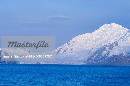 Glacier de la charité, False Bay, île Livingston, îles Shetland du Sud, l'Antarctique, les régions polaires
